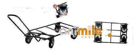 trolleys chariots pour cage poussette sac de transport avec roulettes. Black Bedroom Furniture Sets. Home Design Ideas