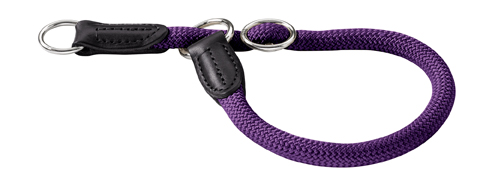 Collier corde nylon Hunter Freestyle taille 10 mm 50 cm  46505 violet