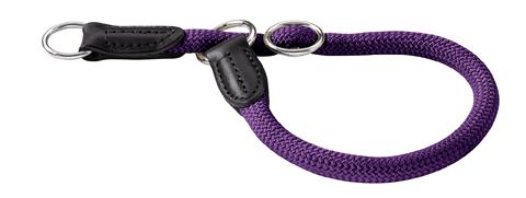 collier avec stop nylon solide pour chien hunter freestyle 50 cm  46505 violet
