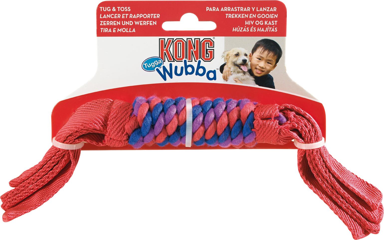 jouet bâton tressé kong tugga wubba 47693 S 34 cm
