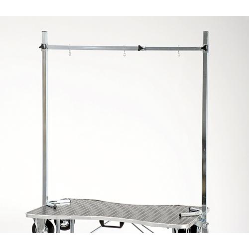 bras de potence en pont règlable pour table de toilettage