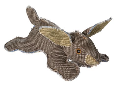 jouet peluche coton pour chien hunter canvas 60840 lapin 27 cm