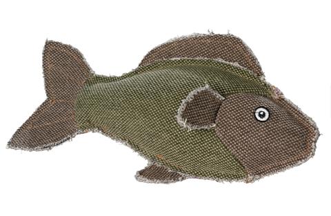 jouet peluche pour chien hunter 60843 canvas poisson 27 cm