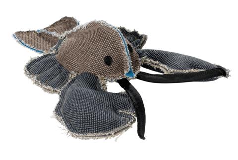 jouet peluche coton pour chien hunter canvas langoustine 60844 26 cm