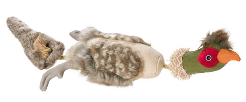 jouet corde peluche faisan soin des dents du chien hunter birds 60847 65 cm