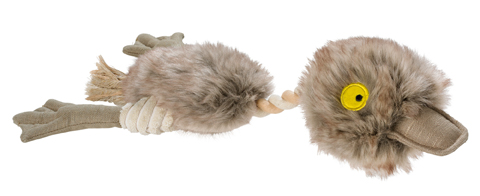 Jouet corde peluche canard Hunter 60848 Batty Birds