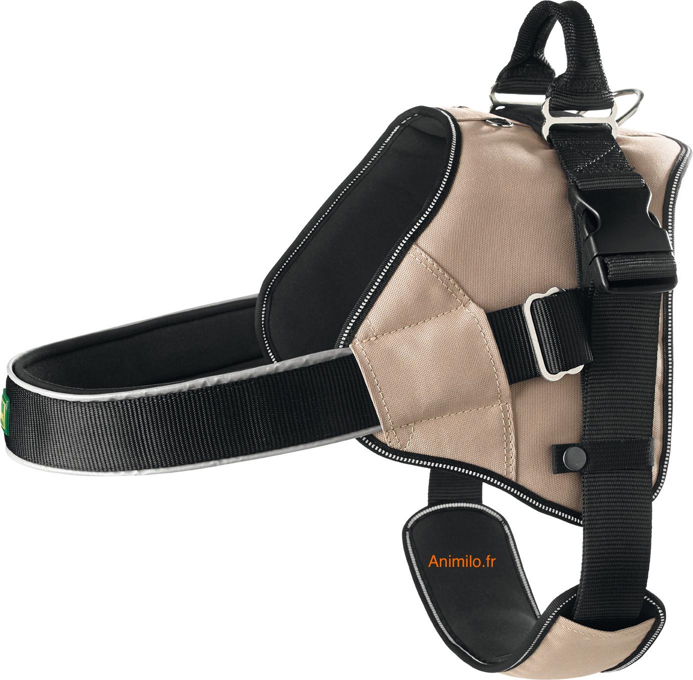 harnais norvégien ergonomique pour chien hunter neopren expert
