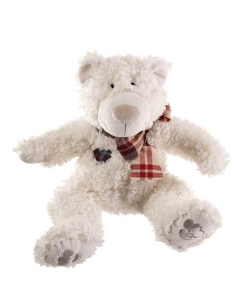jouet peluche sans couineur hunter ours byron