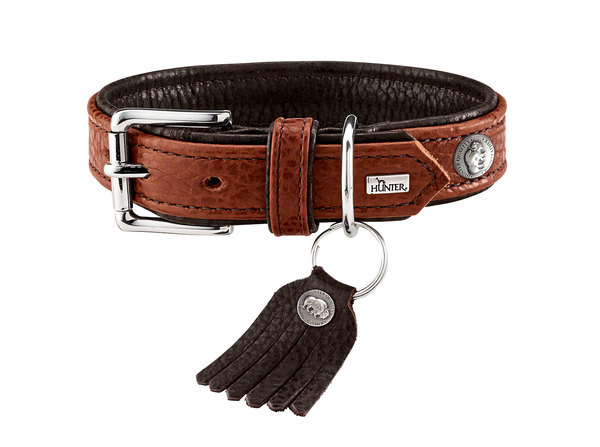 collier cuir de luxe de bison hunter cody