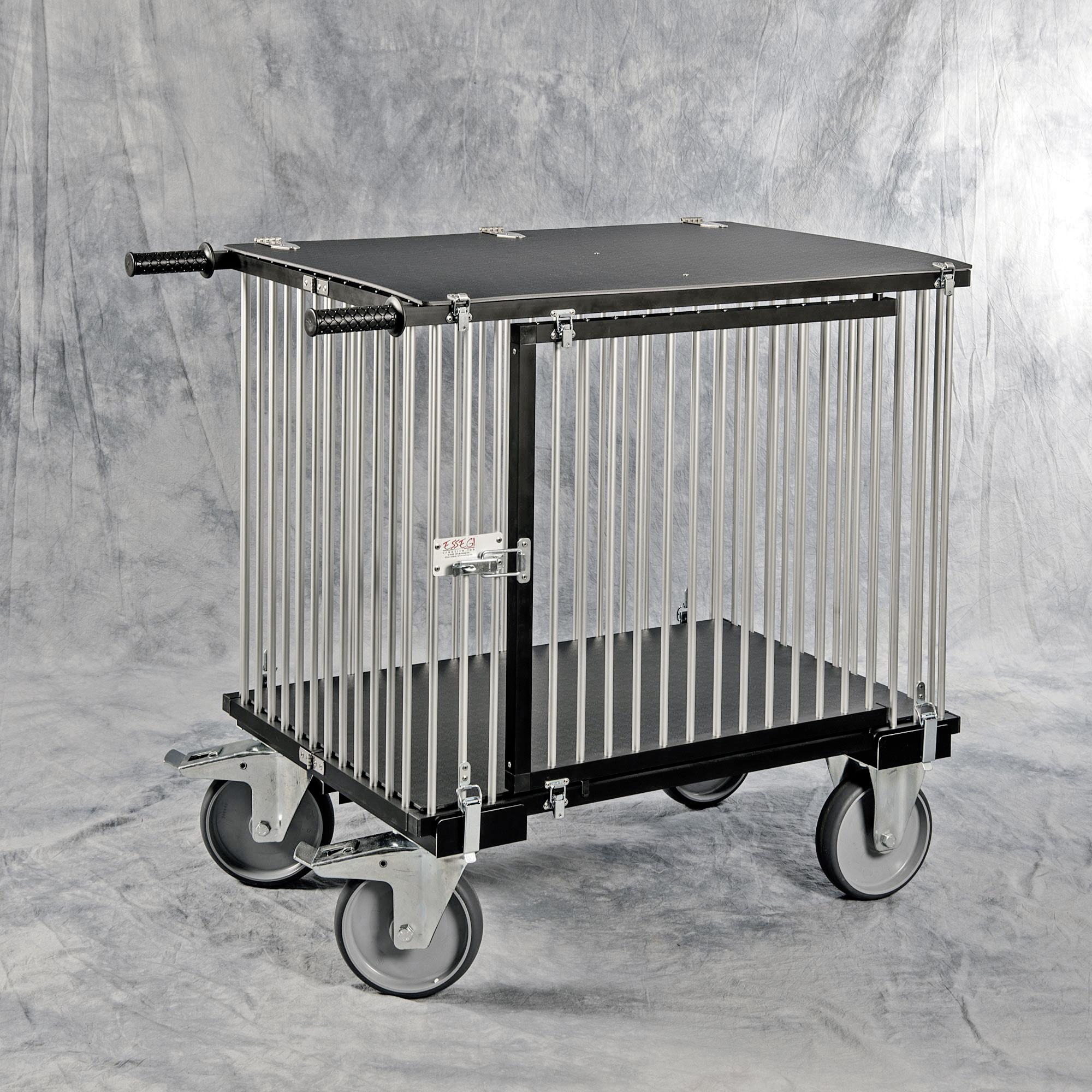 chariot alu pliable de luxe 1 case pour les expos