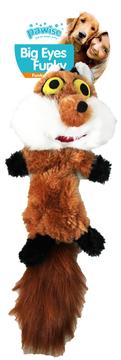 jouet peluche réveil instinct renard 42 cm