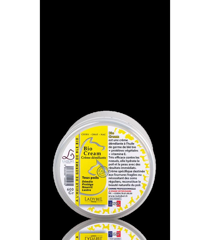 conditionneur hydratant au de germe de blé bio crème ladybel 600g