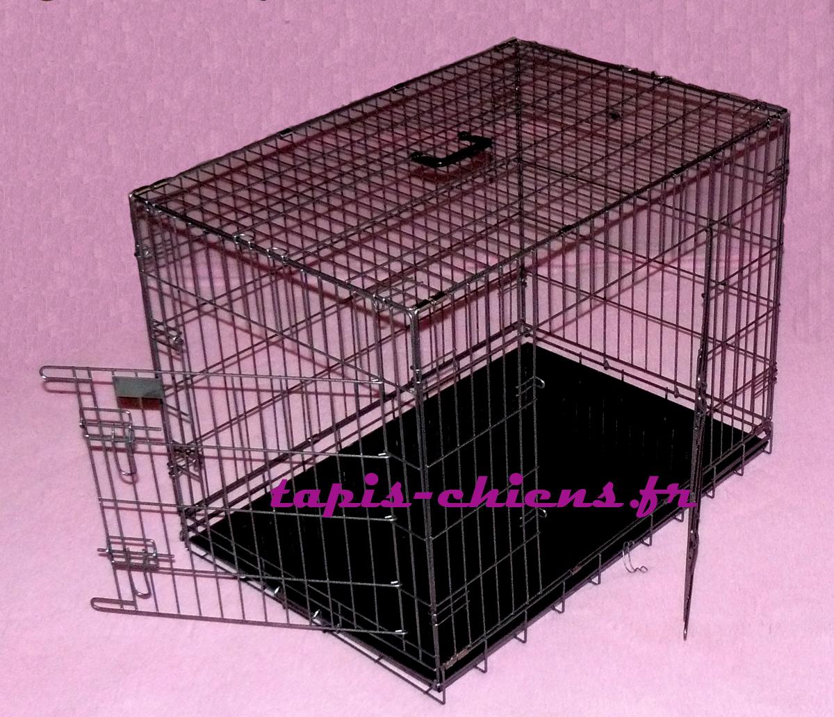 cage métal extra T6 122x79x85 cm pour grands chiens