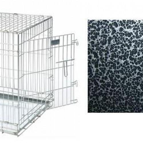 cage pliable métal bac metal premium pour chien et autres animaux