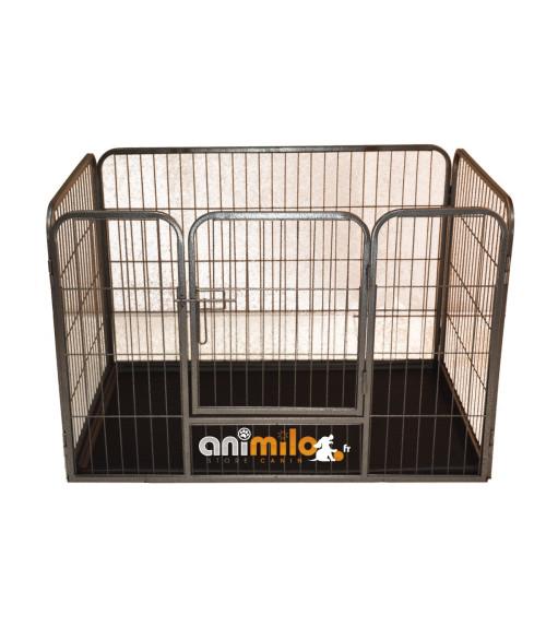 Parc à chiot ou chien, enclos rigide Animilo