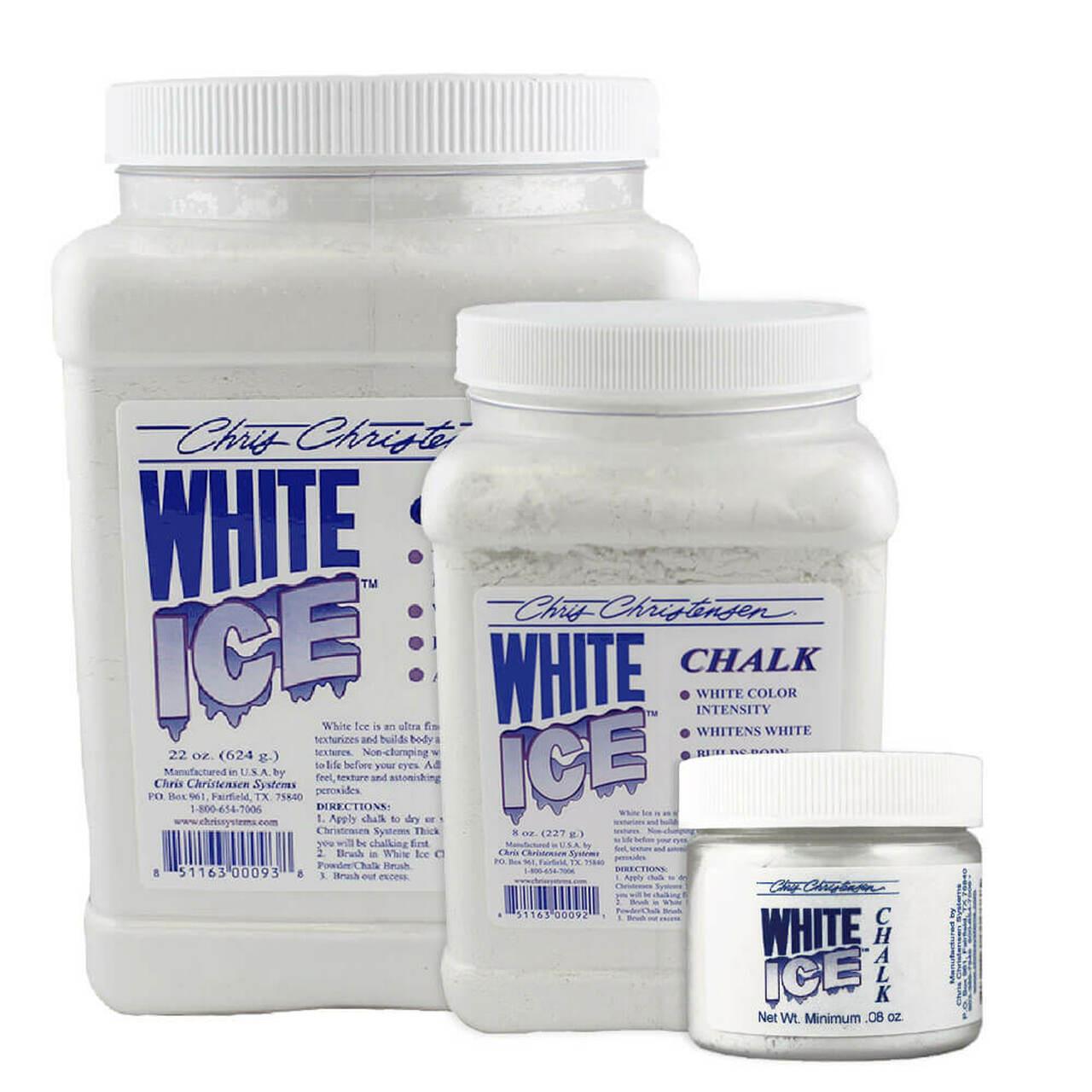 Chris Christensen White Ice Chalk talc