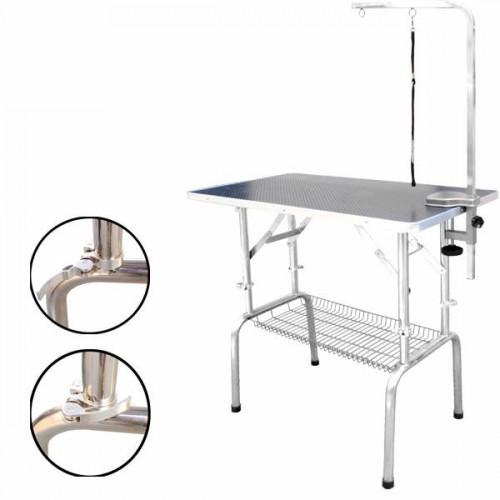 Table De Toilettage Pour Chien Premium Reglable 110x60 Cm