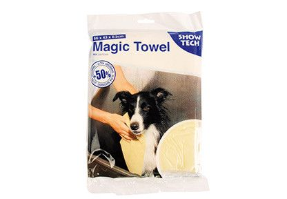Serviette hyper absorbante pour chien