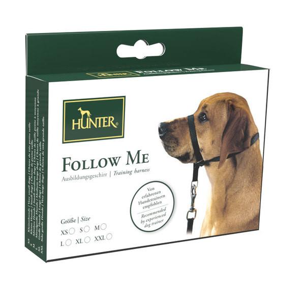 Harnais d'éducation-licol pour chien qui tire Hunter Follow me