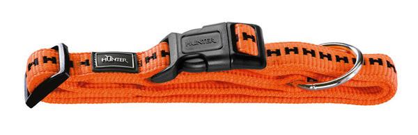 Collier nylon Hunter Grip Vario Plus orange