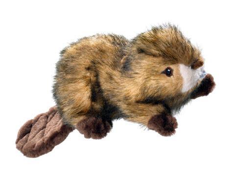Jouet peluche Hunter Wildlife castor pour chien