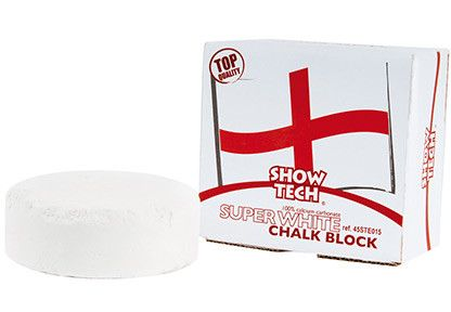 Bloc craie Anglais Rond Super Blanc
