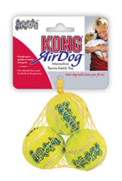jouet balle de tennis, Kong Air Dog Squeakair Ball