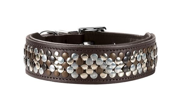 collier cuir artisanal hunter arizona pour chien