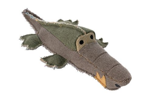 jouet chien peluche crocodile Collection Canvas Hunter