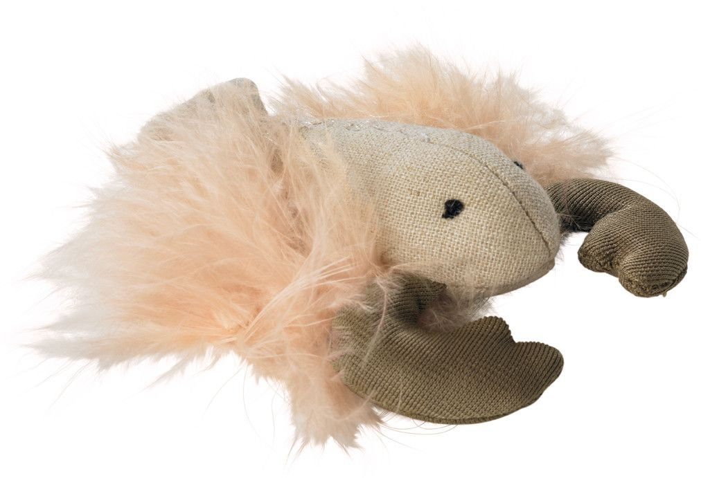 Jouet pour chat et chaton, homard Hunter fluffy