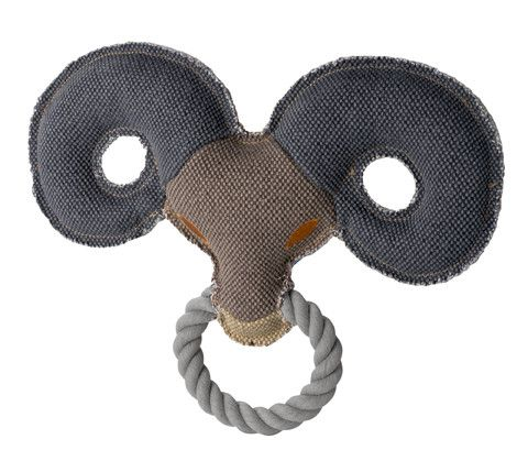jouet peluche tête de belier collection Hunter Canvas