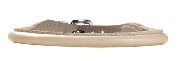 collier cuir d'élan round & soft elk petit, pour petit chien