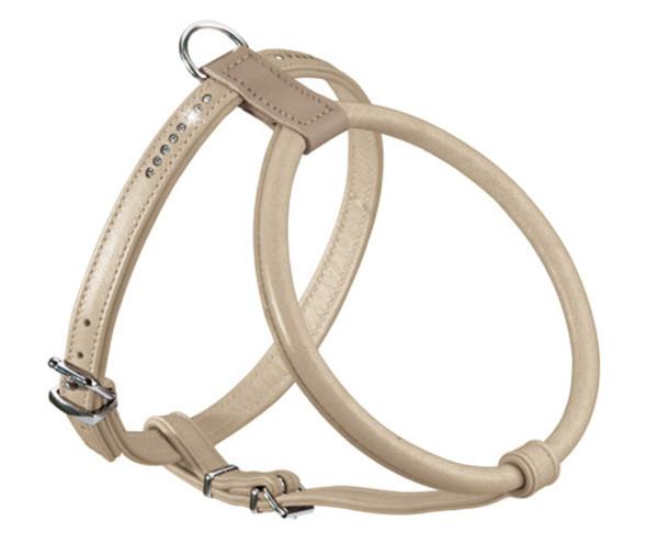 collier cuir doux hunter Round & Soft Luxus Elk Petit
