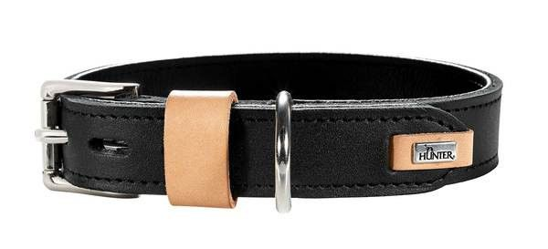 collier cuir artisanal hunter bombay pour chien