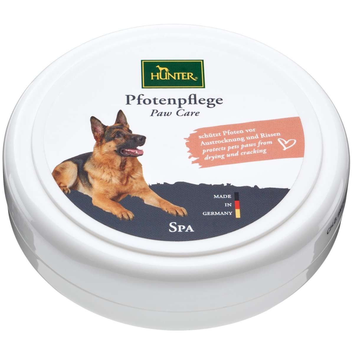 crème hydratante pour patins de chien Hunter