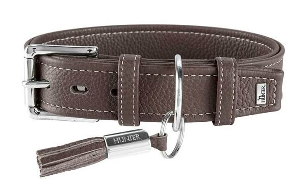 collier cuir de veau de luxe Hunter 63789