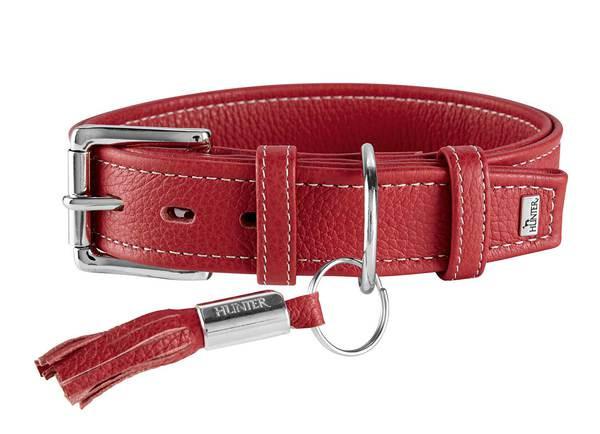 collier cuir de veau de luxe Hunter 63797