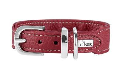 collier cuir de luxe hunter cannes mini chien