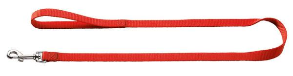 laisse simple nylon Hunter Ecco Sport, rouge