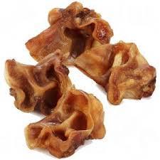 base oreilles porc, friandise pour chien