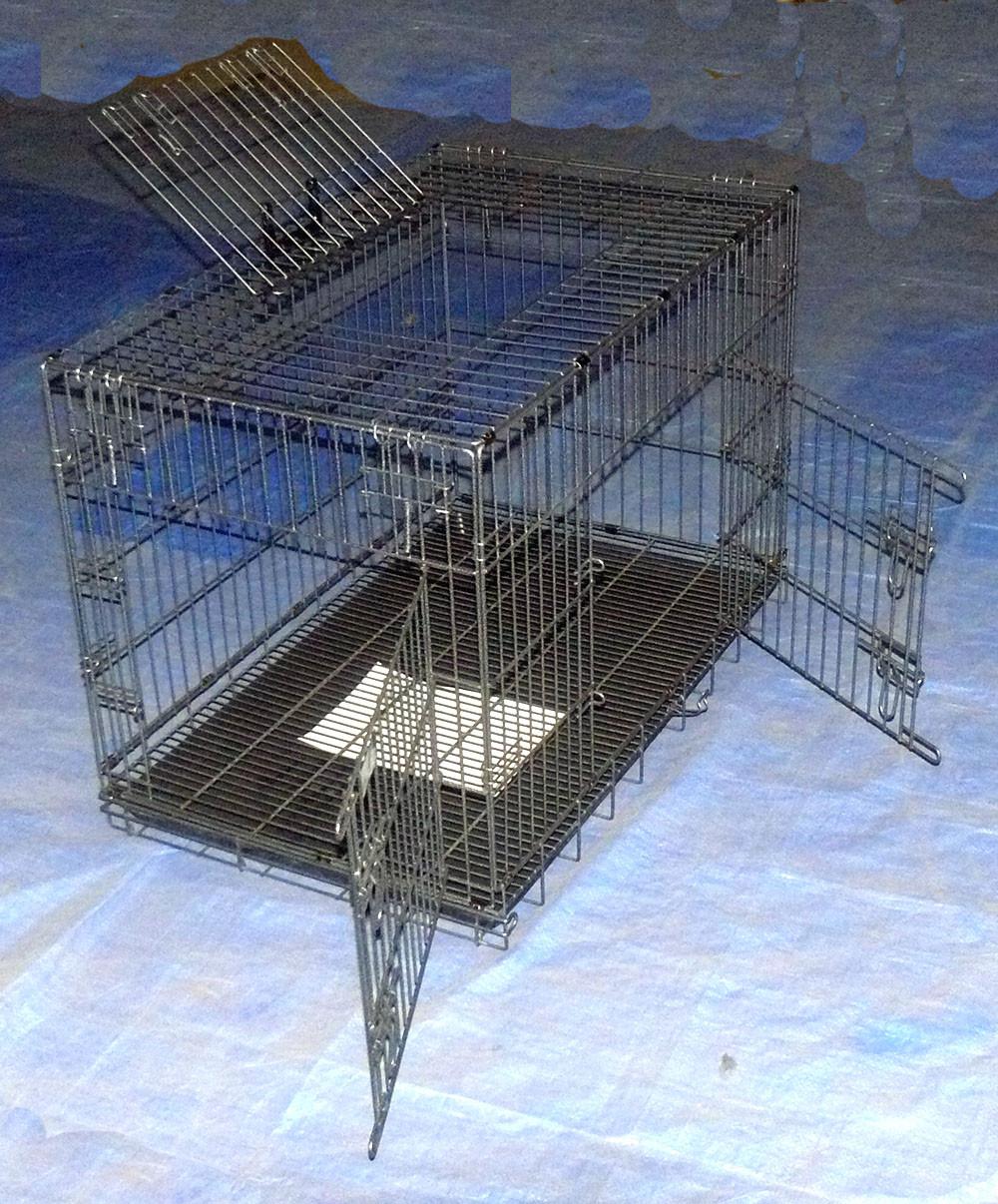 cage pour chien en métal pour les éleveurs