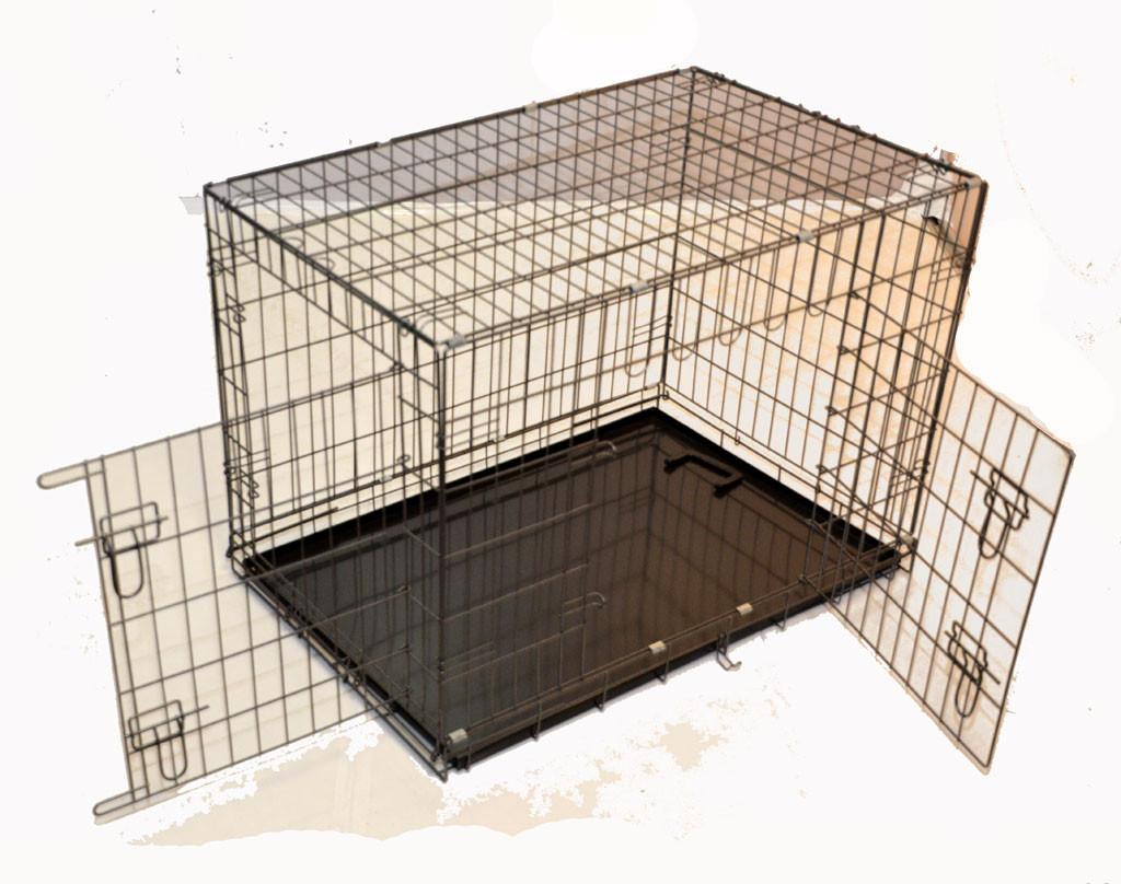 cage métal pliable Premium Light pour chien