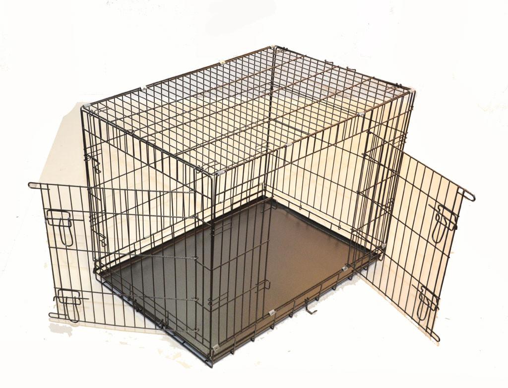 cage métal pliable Premium pour chien