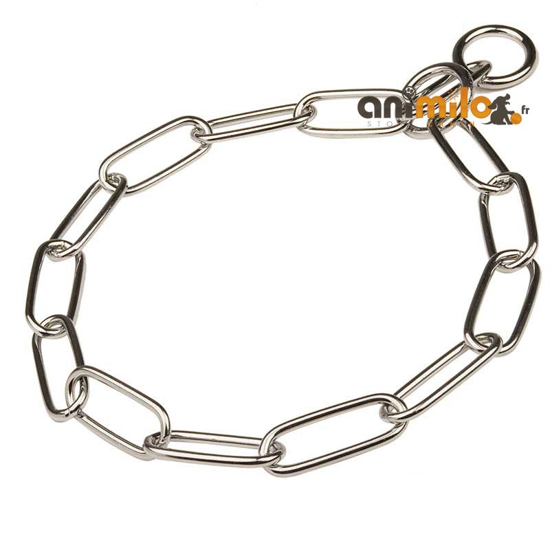 collier chainette d'expo inox