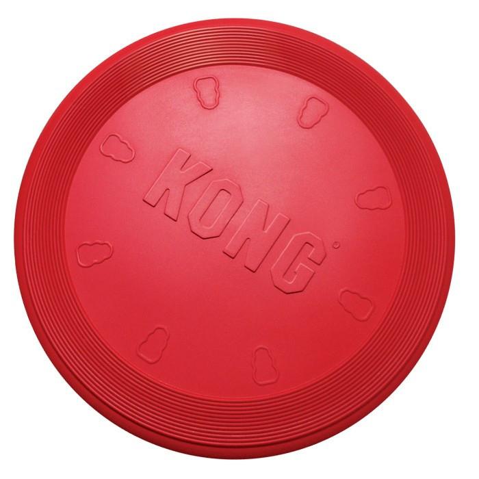 Kong Classic Flyer rouge, frisbee pour chien