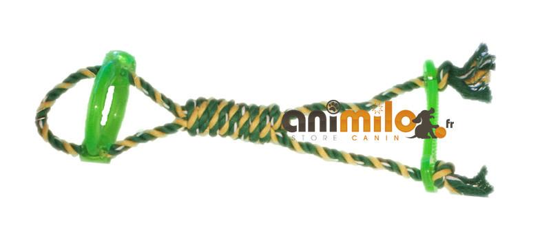 Corde et poignée, jouet pour chien Animilo