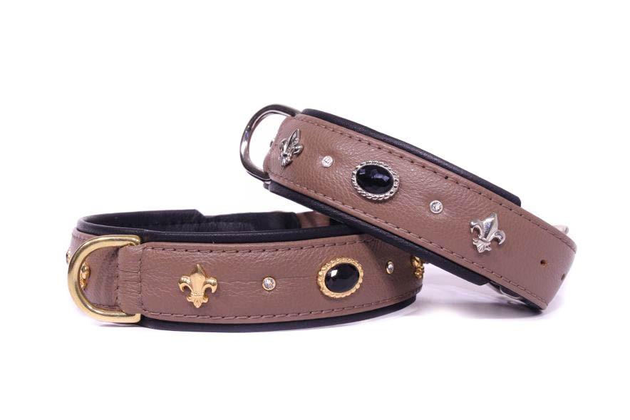 Collier cuir de luxe Jaguar