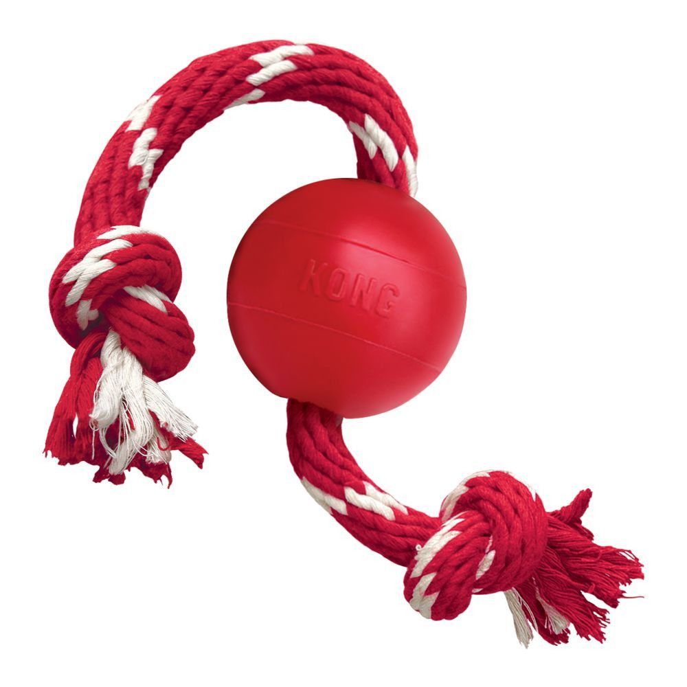 jouet Kong Ball With Rope