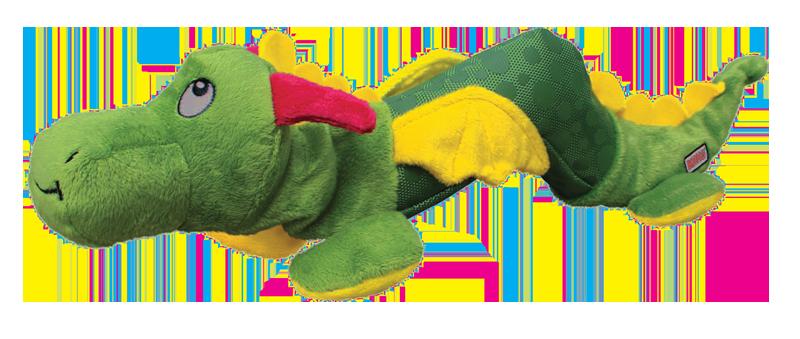 Jouet peluche Kong Shakers dragon