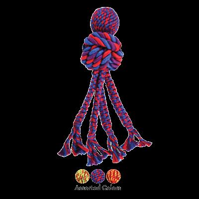 jouet corde pour chien Kong Wubba Weaves W-Ropes
